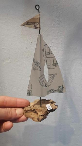 Boot hängend