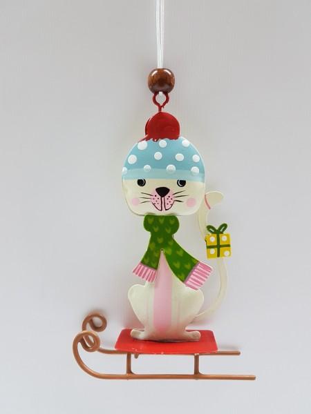 Baumschmuck Katze