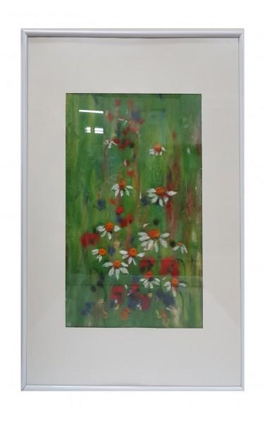 Filzaquarell Blumenmeer