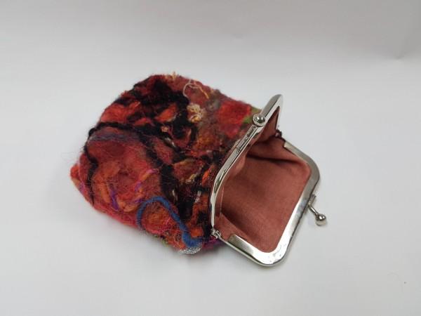 Clip-Portemonnaie Crazy Wool