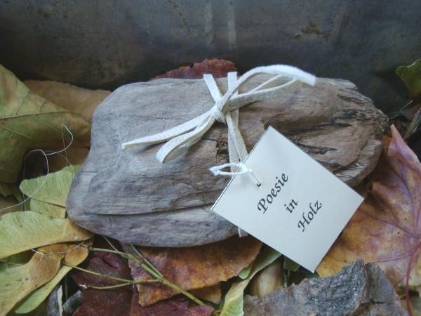 Poesie in Holz - Nach einem Streit