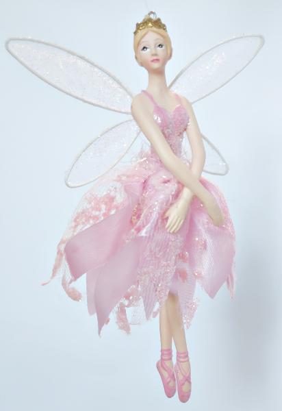 tanzender Engel in rosa Kleid - Tänzerin B