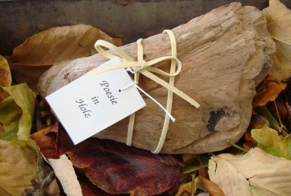 Poesie in Holz - Weihnachten im Glas