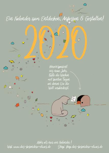 Der besondere Kalender für 2020