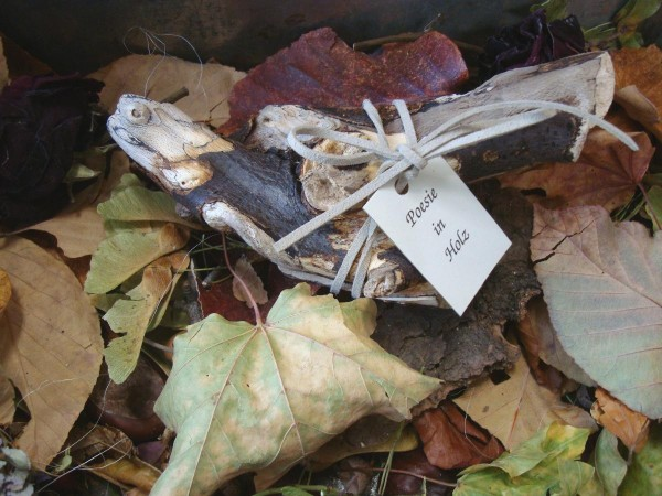 Poesie in Holz - Nach dir