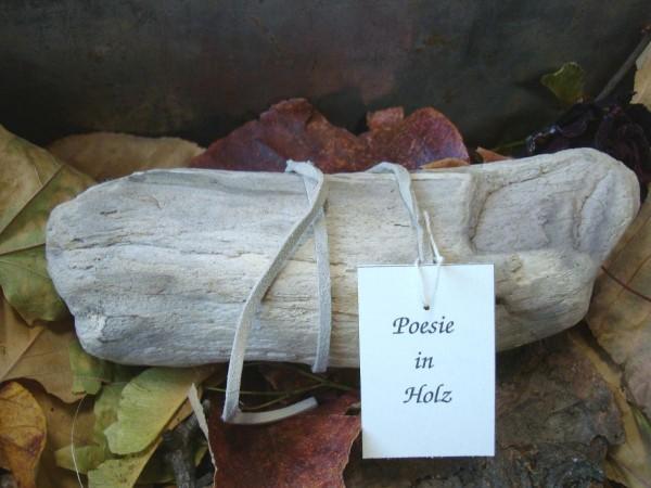Poesie in Holz - Nicht weinen