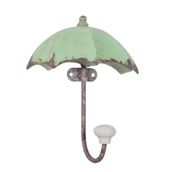 Schirm Haken grün