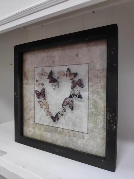Bild mit Schmetterlingsherz