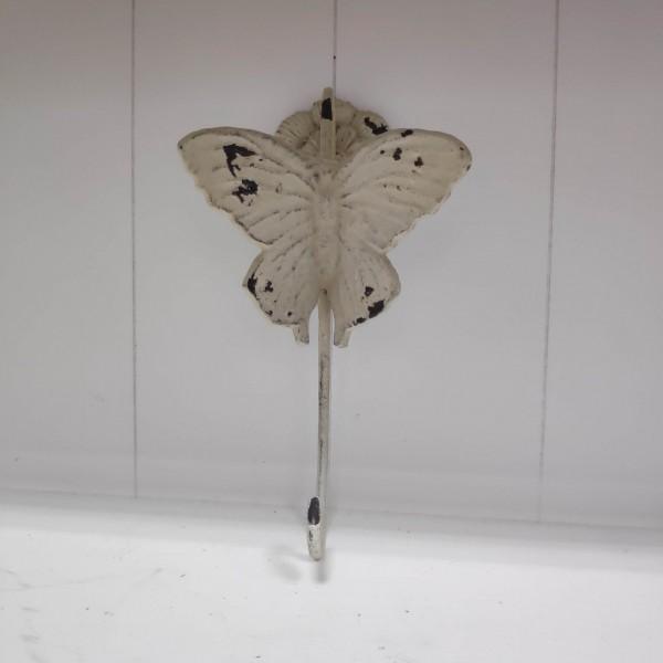 Vintage Kleiderhaken Schmetterling