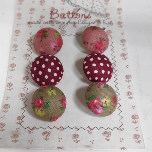 Buttons - Knöpfe C