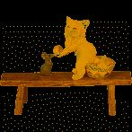 Dekoration - Katze und Maus