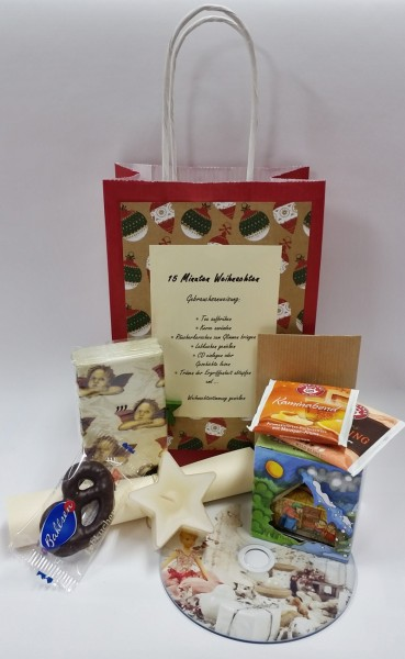 Eine Tüte Weihnachten mit Hörgeschichte auf CD
