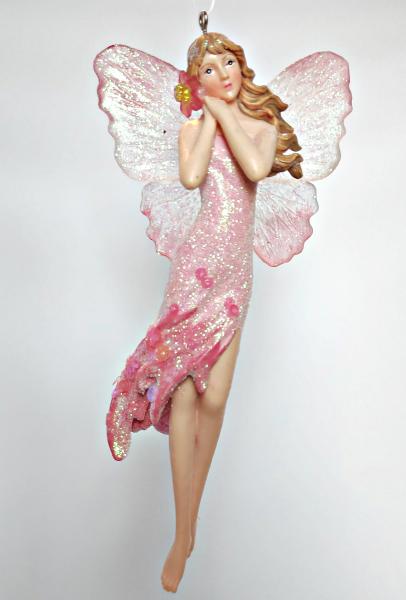 Blumenelfe in rosa Kleid B