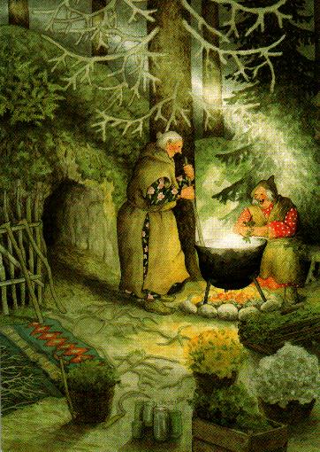 Postkarte - gemeinsam kochen