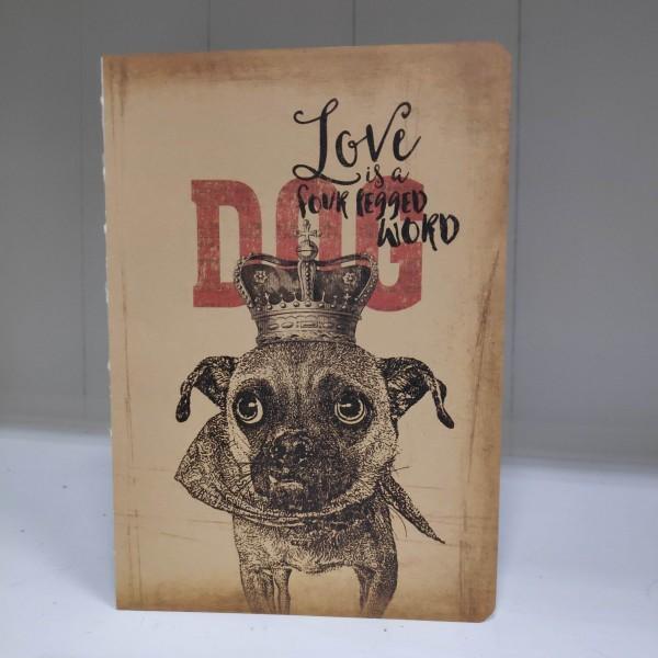 Notizbuch Hund
