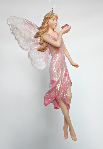 Blumenelfe in rosa Kleid A