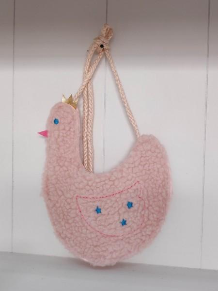 Kindertasche rosa Huhn