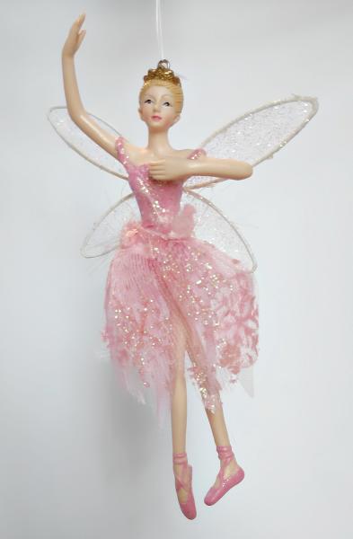 tanzender Engel in rosa Kleid - Tänzerin A
